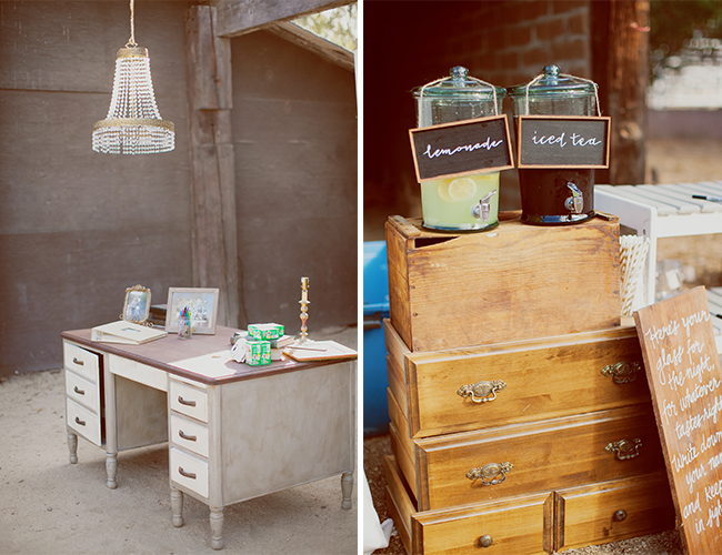 DIY Vintage Green Wedding
