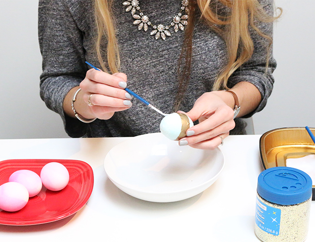Glitter Easter Egg Craft