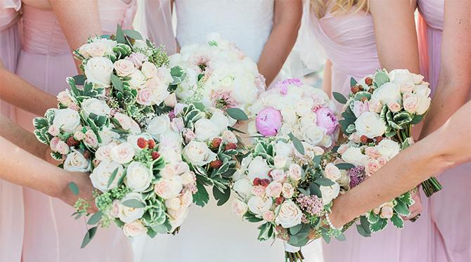 Ivory Malibu Wedding