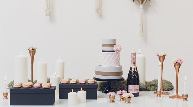 Pink and Cream Wedding