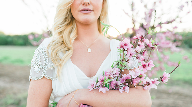 Cherry Blossom Bridal Inspiration