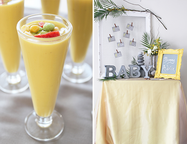 Green & Yellow Safari Baby Shower