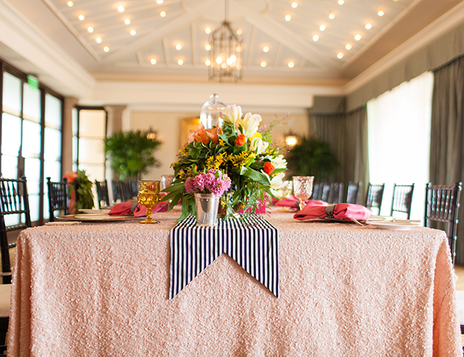 Pink Kate Spade Inspired Bridal Shower