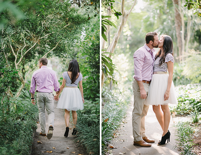 Romantic Charleston Engagement Photos