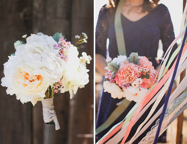 Real vs. Fake Wedding Flowers - Inspired By This