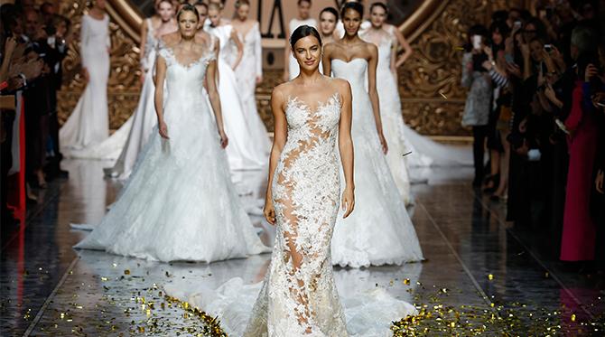 Wedding Dress Trends from Barcelona Bridal Week