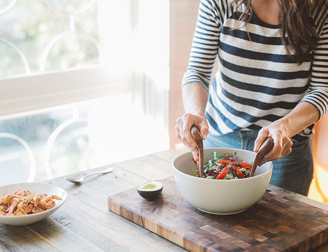 Taco Tuesday: Healthy Shrimp Taco Bowl