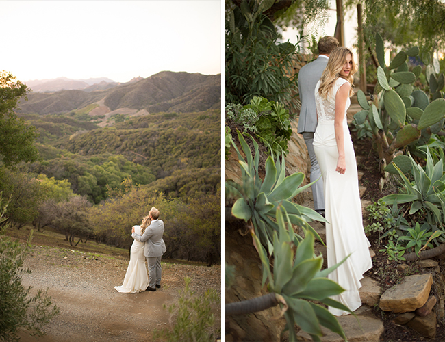 Jade Green Malibu Wedding