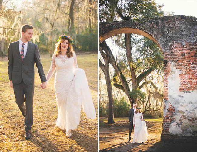 South Carolina Old Church Wedding