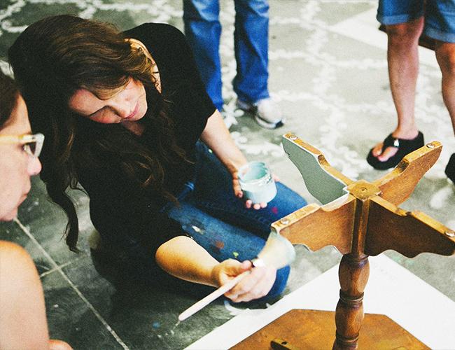 Working Mom: Deborah of Peinture