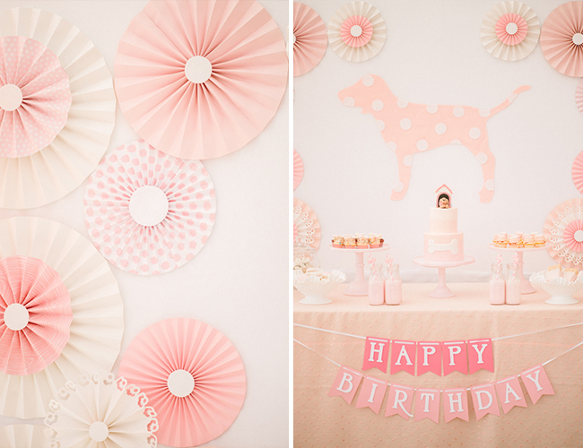 Pink Puppy Birthday Party