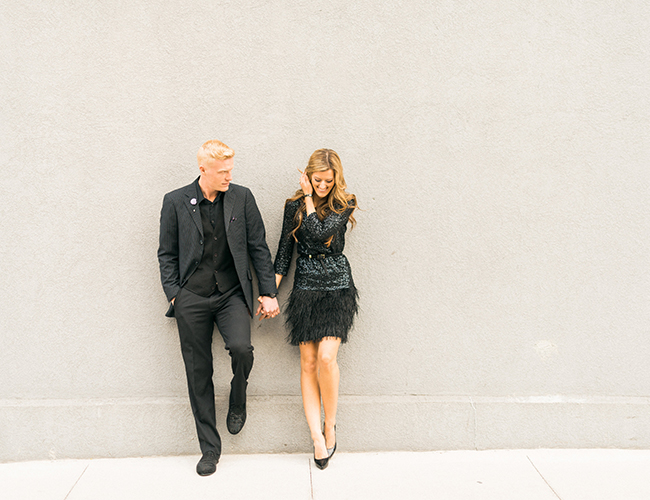 Chic Street Style: What to Wear for Engagement Photos