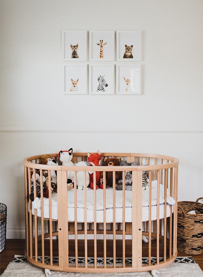 Neutral Wooden Nursery