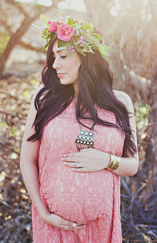 Free People Inspired Maternity Photos