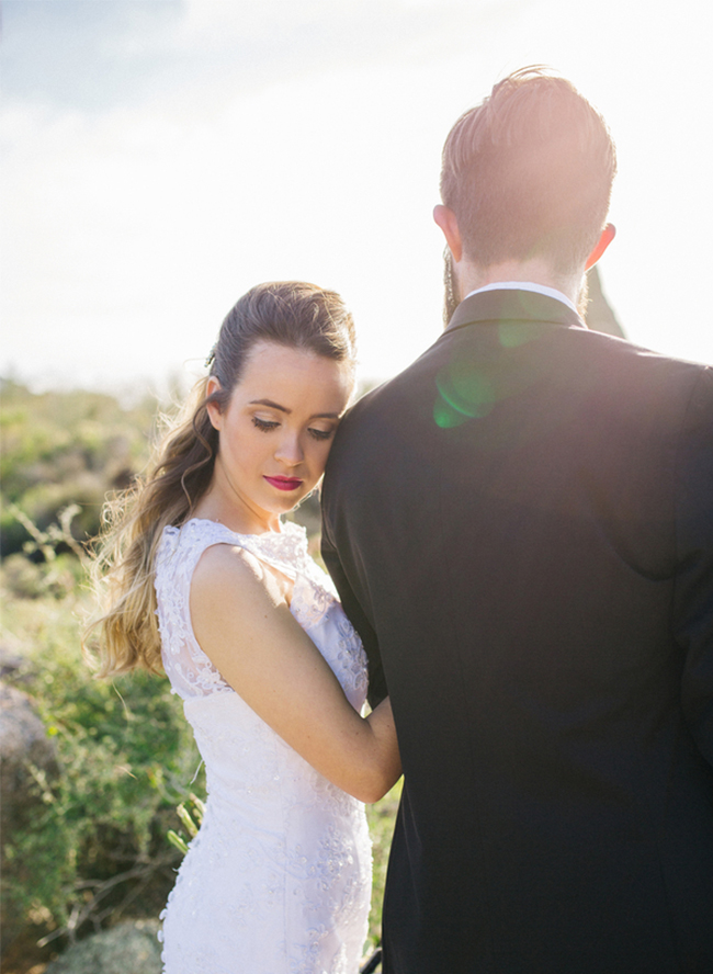 Sunset Desert Elopement