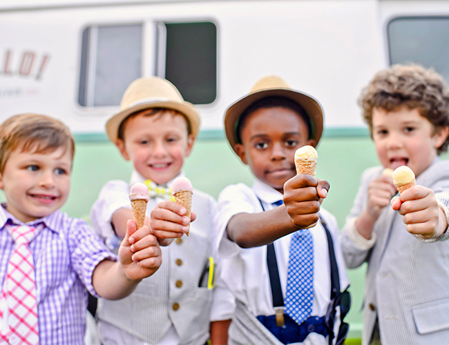 Playful Kids' Ice Cream Party