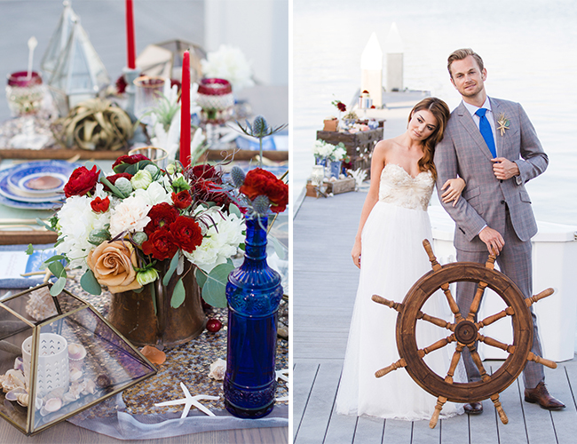 Red, White, and Blue Party and Wedding Inspiration