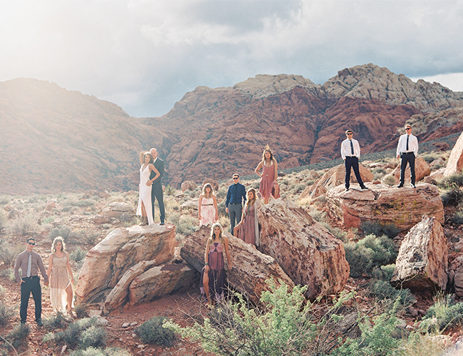 South Nevada Boho Elopement