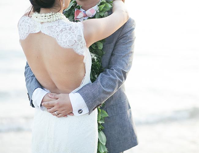 Hawaiian Beach Wedding
