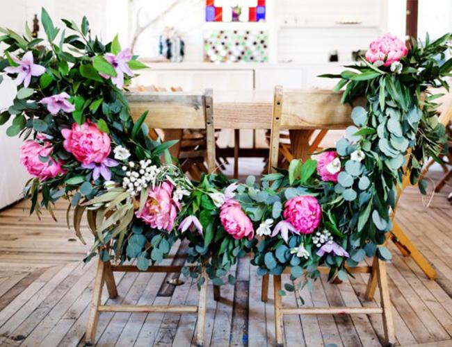 DIY Floral Garland