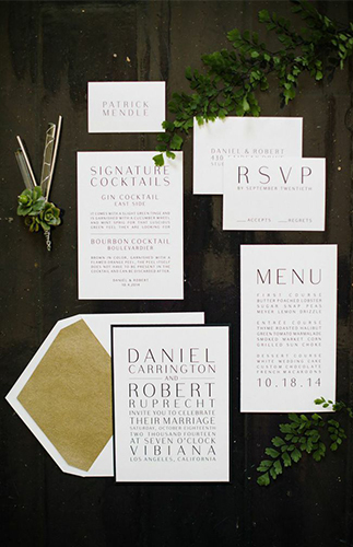 Big City Wedding Inspiration