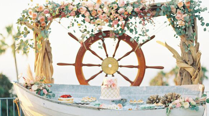 20 Ways to Have a Nautical Wedding
