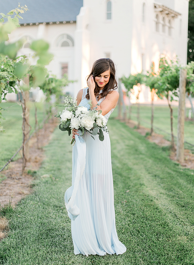 Pastel Vineyard Engagement
