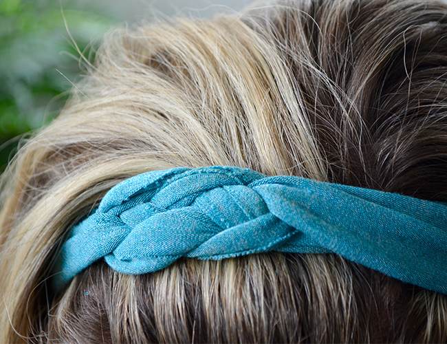 T-shirt DIY Headbands - Inspired By This