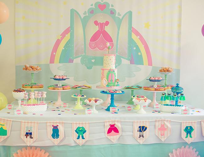 Princess Dress Up Birthday Party