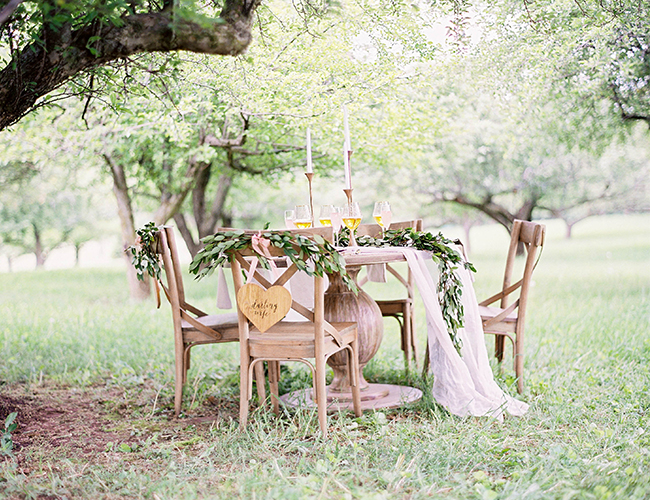 Pink and Gold Wedding Inspiration - Inspired By This