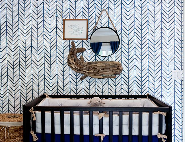Cream & Navy Nautical Nursery - Inspired By This