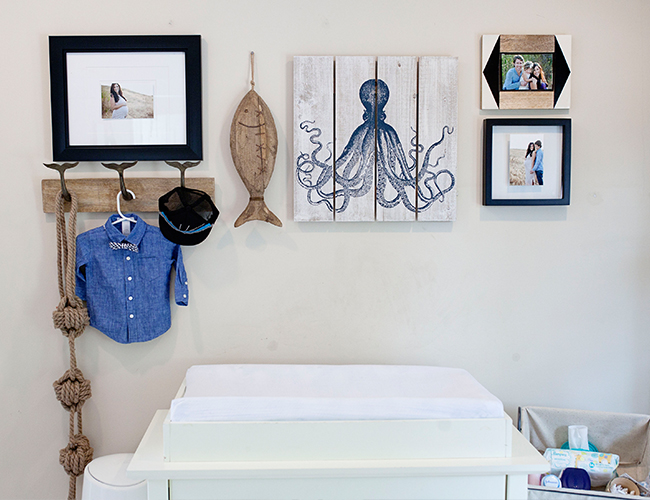 Cream & Navy Nautical Nursery - Inspired By This