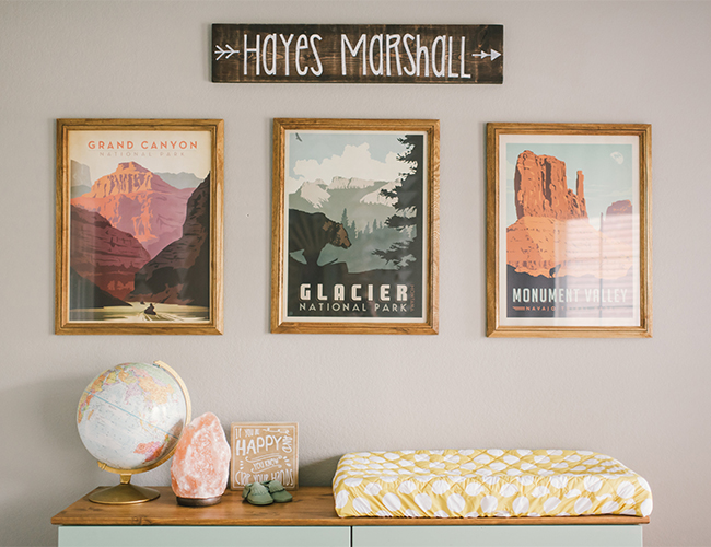 Stylish Outdoorsy Nursery - Inspired By This
