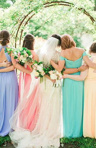 Pretty Pastel Texas Wedding