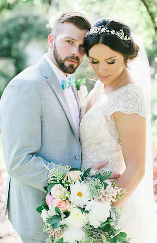 Pretty Pastel Texas Wedding