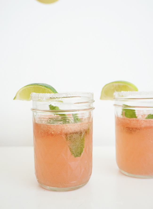 Watermelon Mint Mojito Recipe - Inspired By This