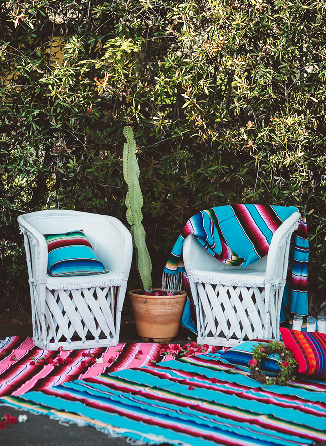 Boho Backyard Party : End of Summer Bohemian Backyard Party  Inspired By This