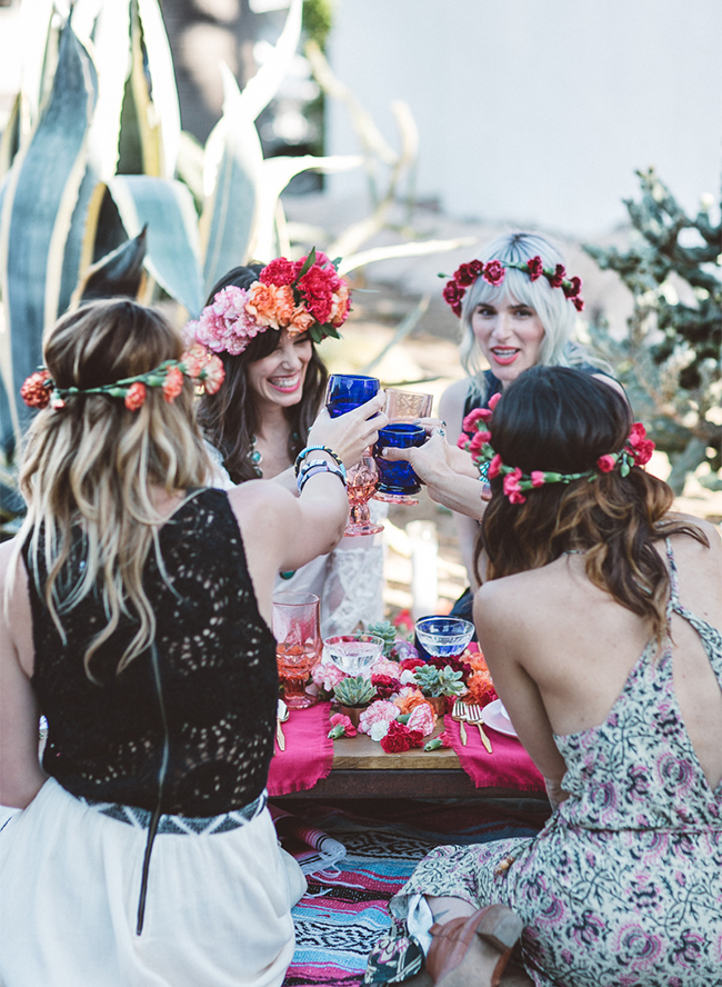 Bohemian Backyard Party - Inspired By This