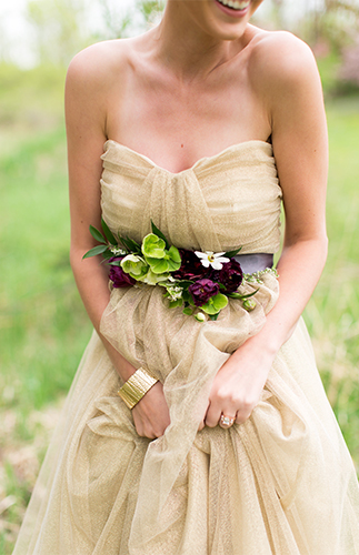Cream & Burgundy Wedding - Inspired By This