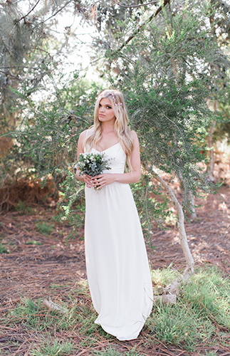 Organic Sage and Ivory Wedding Inspiration