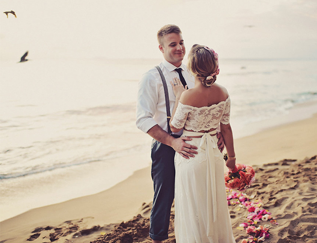 Oceanfront Puerto Rico Wedding - Inspired By This