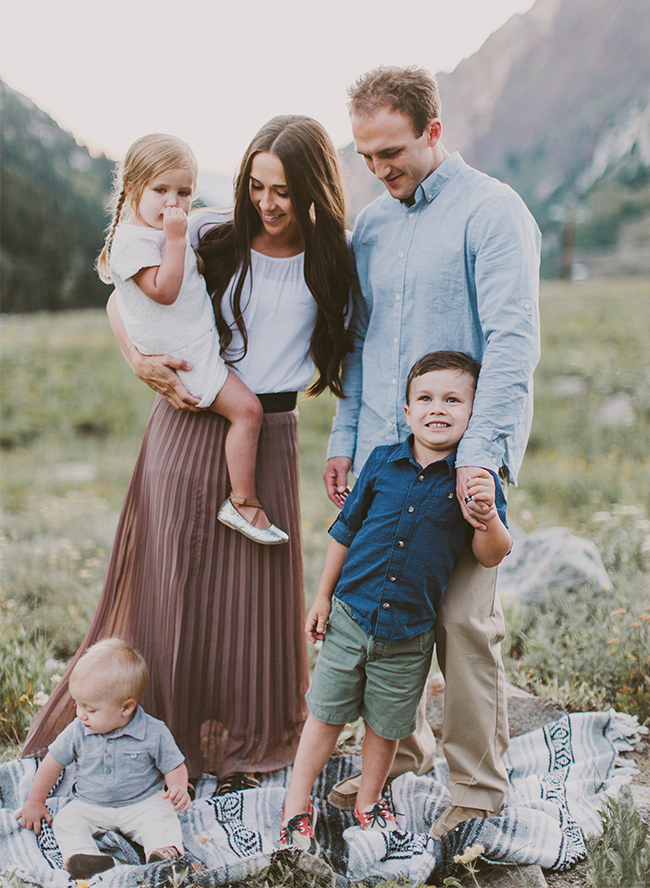 Mountainside Family Photos - Inspired By This