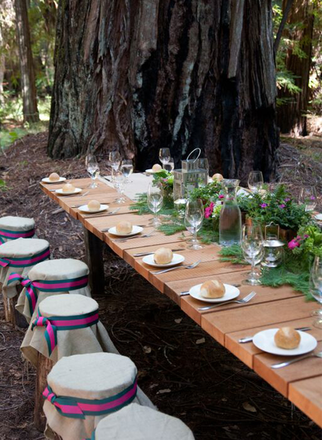 18 Forest Weddings Perfect for Fall - Inspired by This
