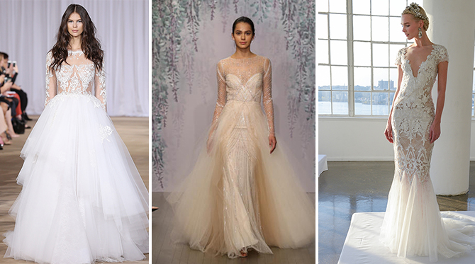 The Wedding Dress Trends from Bridal Fashion Week