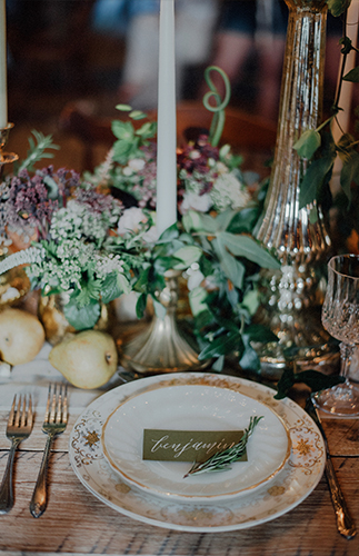 Elegant Barn Wedding Inspiration - Inspired by This