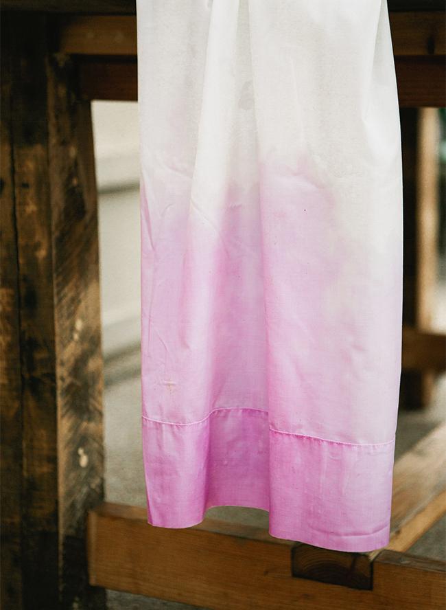 DIY Dip Dye Linens