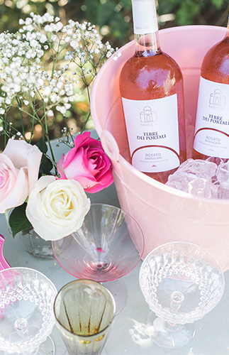 Blush Steel Magnolias Bridal Shower - Inspired by This