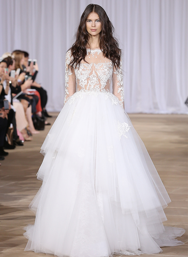 2015 Bridal Fashion Week Wedding Dress Trends
