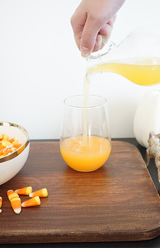 Candy Corn Cocktail Recipe - Inspired by This