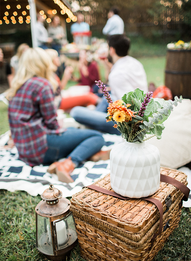 Backyard Fall Campfire Party - Inspired by This